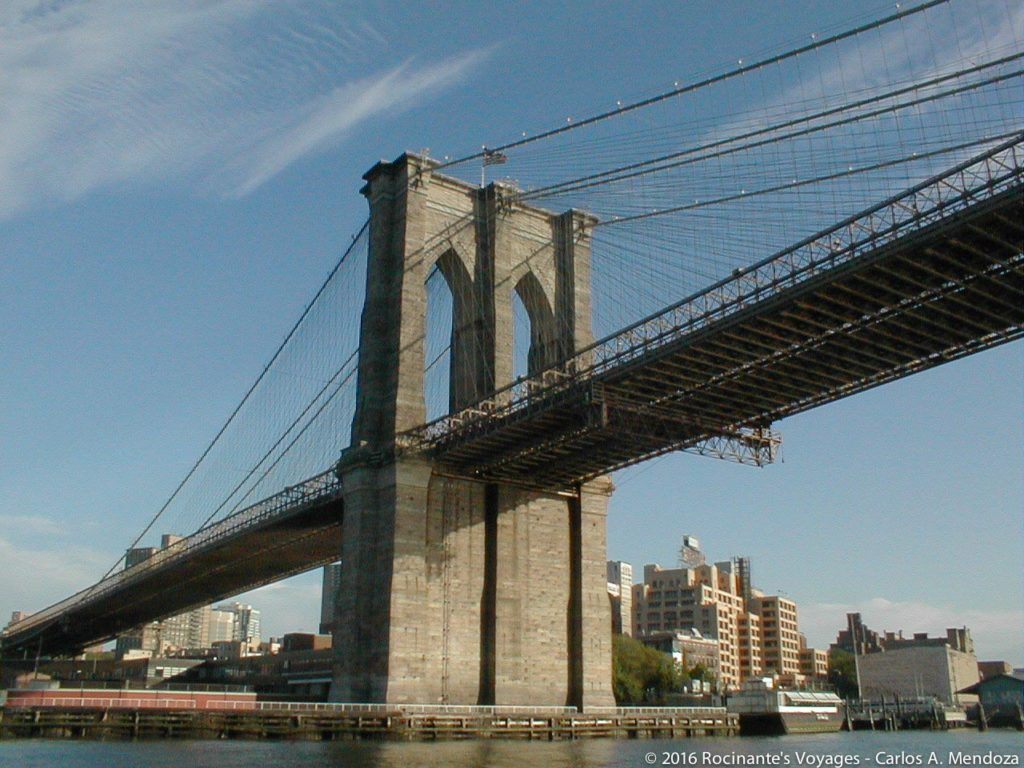 My personal favorite - The Brooklyn Bridge