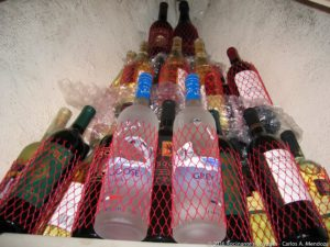 "Rocinante's well stocked ""Wine Cellar"""