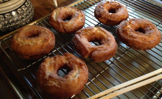 Old-Fasioned Buttermilk Doughnuts