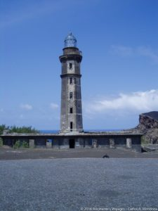The Capelinhos Lighthouse - Faial, Azores