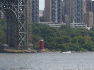 Little Red Lighthouse (Jeffrey's Hook Light) - The Hudson River, NY