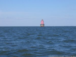 Miah Maull Shoal Lighthouse - Delaware Bay, NJ