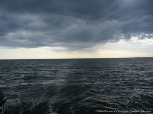 "Storm clouds in our wake - originally titled ""time to change your shorts"""